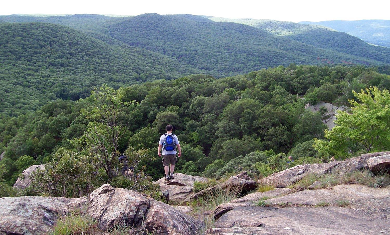 Hiking the hills of North Carolina