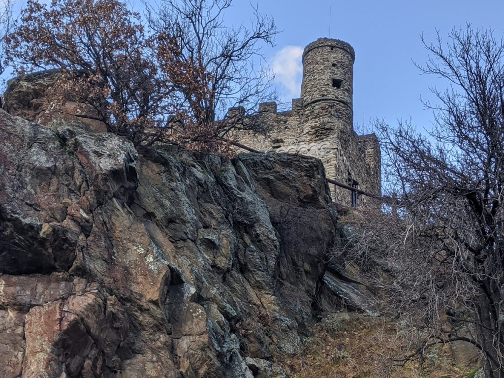 Italian Fortress near Aosta